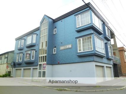 北海道札幌市西区の築26年 3階建の賃貸アパート