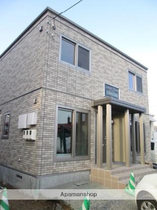 北海道札幌市西区、発寒中央駅徒歩5分の築1年 2階建の賃貸アパート