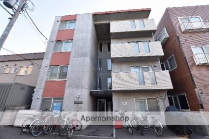 北海道札幌市西区、発寒駅徒歩15分の築2年 4階建の賃貸マンション