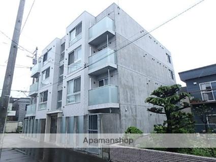 北海道札幌市西区、発寒中央駅徒歩17分の新築 4階建の賃貸マンション
