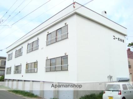 北海道札幌市西区、八軒駅徒歩7分の築31年 3階建の賃貸アパート