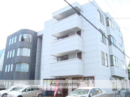 北海道札幌市西区、八軒駅徒歩6分の築23年 4階建の賃貸マンション