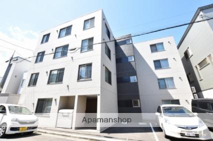 北海道札幌市西区、琴似駅徒歩18分の新築 4階建の賃貸マンション