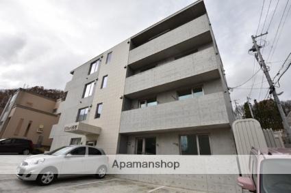 北海道札幌市西区、宮の沢駅徒歩15分の新築 4階建の賃貸マンション
