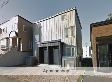 北海道札幌市西区、発寒駅徒歩17分の築3年 3階建の賃貸テラスハウス