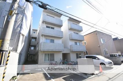 北海道札幌市西区、発寒中央駅徒歩7分の新築 4階建の賃貸マンション