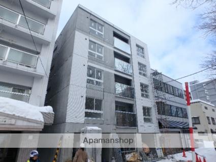 北海道札幌市中央区、桑園駅徒歩7分の新築 5階建の賃貸マンション