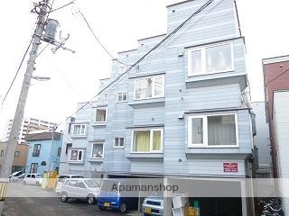 北海道札幌市西区、琴似駅徒歩10分の築23年 3階建の賃貸アパート