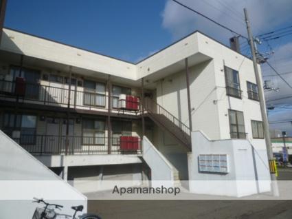 北海道札幌市西区、発寒南駅徒歩9分の築31年 3階建の賃貸アパート
