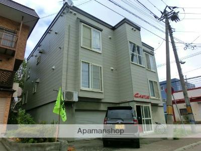 北海道札幌市西区、新川駅徒歩14分の築22年 3階建の賃貸アパート