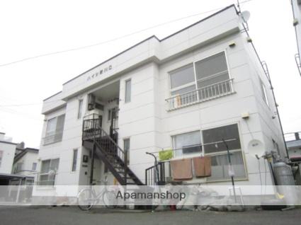 北海道札幌市北区、新川駅徒歩11分の築28年 2階建の賃貸アパート