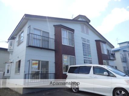 北海道札幌市北区、新川駅徒歩10分の築24年 2階建の賃貸アパート