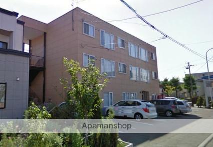 北海道札幌市西区、発寒中央駅徒歩11分の築23年 3階建の賃貸アパート