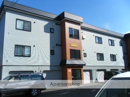 北海道札幌市西区、宮の沢駅JRバスバス16分西野9−5下車後徒歩2分の築14年 3階建の賃貸アパート