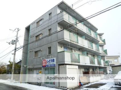 北海道札幌市西区、琴似駅徒歩18分の築22年 4階建の賃貸マンション