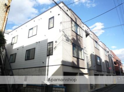 北海道札幌市中央区、西11丁目駅徒歩12分の築16年 3階建の賃貸アパート