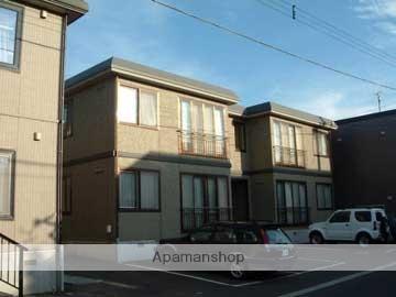 北海道札幌市西区、八軒駅徒歩12分の築20年 2階建の賃貸アパート