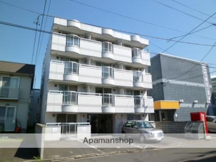 北海道札幌市西区、琴似駅徒歩11分の築26年 4階建の賃貸マンション