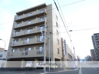 北海道札幌市中央区、桑園駅徒歩10分の築22年 6階建の賃貸マンション