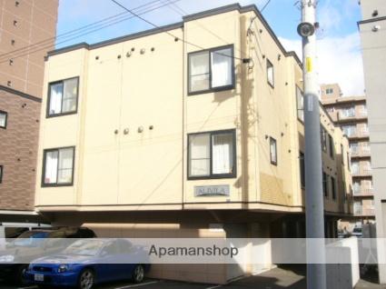 北海道札幌市西区、発寒駅徒歩11分の築13年 3階建の賃貸アパート