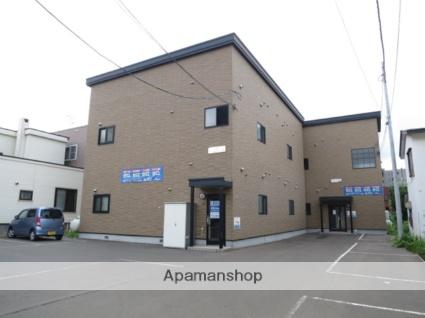 北海道札幌市西区、発寒中央駅徒歩3分の築10年 2階建の賃貸アパート