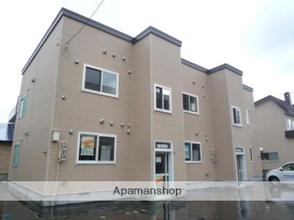 北海道札幌市北区、新川駅徒歩13分の築38年 2階建の賃貸アパート
