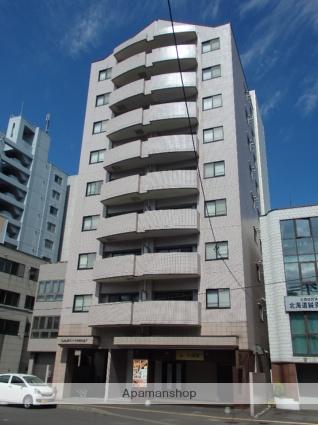 北海道札幌市中央区、西18丁目駅徒歩3分の築26年 9階建の賃貸マンション