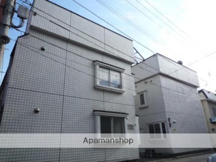 北海道札幌市中央区、西線6条駅徒歩7分の築25年 2階建の賃貸アパート