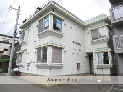 北海道札幌市中央区、二十四軒駅徒歩15分の築28年 2階建の賃貸アパート