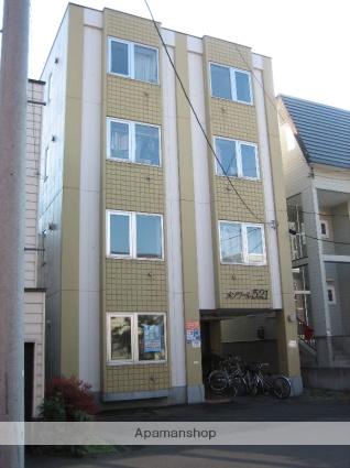 北海道札幌市中央区、円山公園駅徒歩12分の築29年 4階建の賃貸マンション
