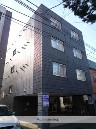 北海道札幌市中央区、西線6条駅徒歩5分の築13年 4階建の賃貸マンション