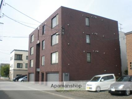 北海道札幌市西区、発寒中央駅徒歩4分の築26年 4階建の賃貸マンション