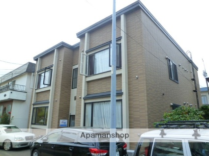 北海道札幌市西区、琴似駅徒歩13分の築11年 2階建の賃貸アパート