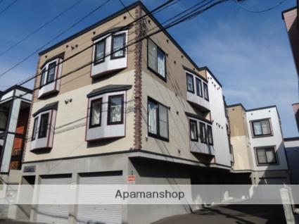 北海道札幌市西区、発寒中央駅徒歩14分の築12年 3階建の賃貸アパート