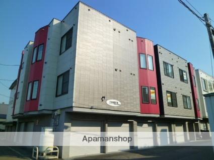 北海道札幌市西区、発寒中央駅徒歩16分の築11年 3階建の賃貸アパート