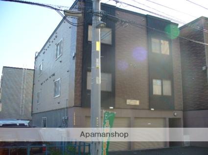 北海道札幌市西区、発寒駅徒歩14分の築14年 3階建の賃貸アパート