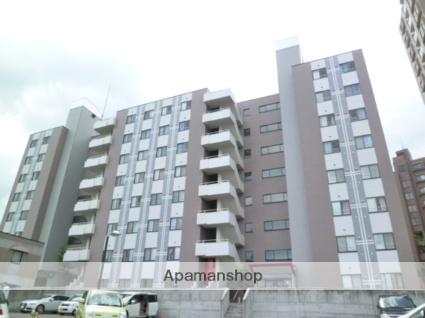 北海道札幌市西区、発寒中央駅徒歩16分の築21年 8階建の賃貸マンション
