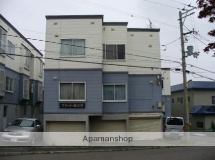 北海道札幌市西区、発寒駅徒歩29分の築24年 3階建の賃貸アパート