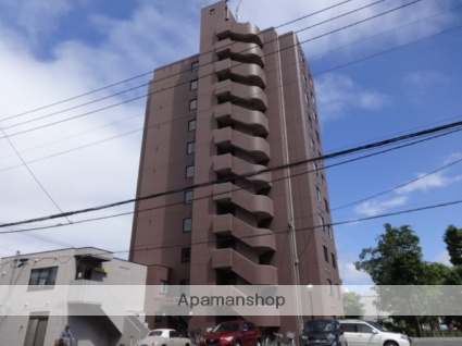北海道札幌市西区、宮の沢駅徒歩7分の築18年 11階建の賃貸マンション