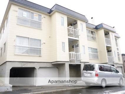 北海道札幌市西区、宮の沢駅JRバスバス21分平和1−8下車後徒歩5分の築27年 3階建の賃貸アパート