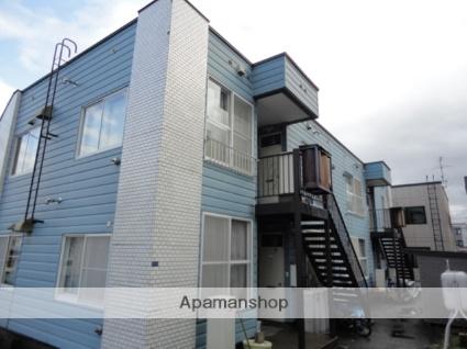 北海道札幌市西区、宮の沢駅JRバスバス13分西野8−8下車後徒歩2分の築33年 2階建の賃貸アパート