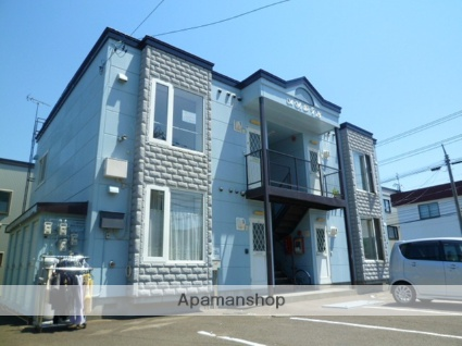 北海道札幌市西区の築26年 2階建の賃貸アパート