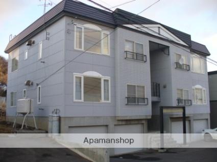 北海道札幌市西区、宮の沢駅JRバスバス8分西野5−9下車後徒歩6分の築23年 3階建の賃貸アパート