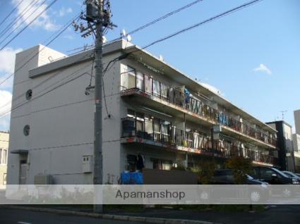 北海道札幌市西区、宮の沢駅徒歩7分の築40年 3階建の賃貸マンション