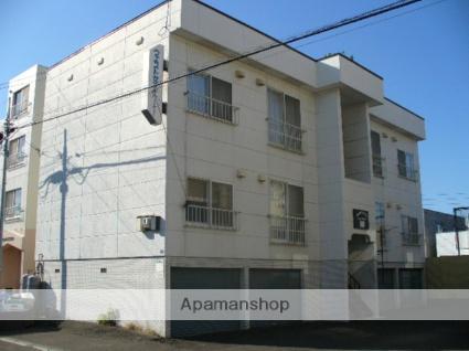 北海道札幌市西区、発寒駅徒歩12分の築30年 2階建の賃貸アパート