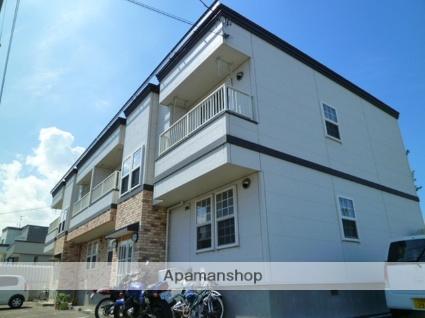 北海道札幌市西区、発寒駅徒歩8分の築10年 2階建の賃貸アパート