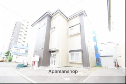 北海道札幌市東区、北18条駅中央バスバス12分北18東15下車後徒歩4分の築24年 2階建の賃貸アパート