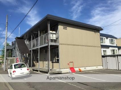 北海道札幌市北区、札幌駅中央バスバス20分新琴似2−12下車後徒歩20分の築24年 2階建の賃貸アパート