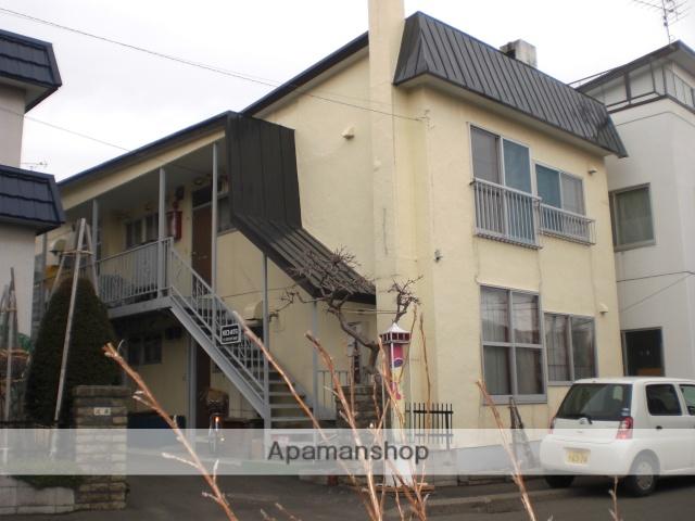 北海道札幌市東区、環状通東駅徒歩7分の築36年 2階建の賃貸アパート
