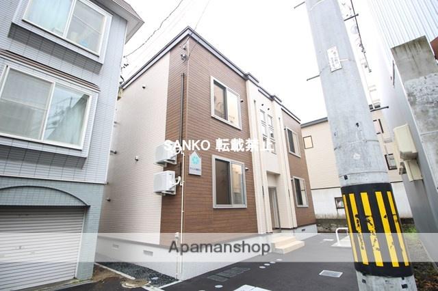 北海道札幌市北区、新琴似駅徒歩10分の新築 2階建の賃貸アパート